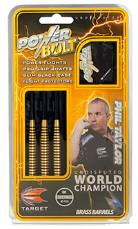 Phil Taylor Verpackung